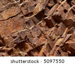 Ferroginous Stone Structure In...