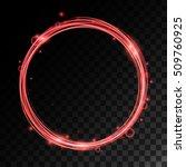vector magic wheel with light... | Shutterstock .eps vector #509760925