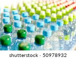 Image Of Many Plastic Bottles...