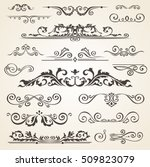 fine line set of design... | Shutterstock .eps vector #509823079