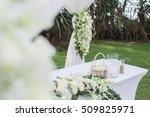 wedding flower | Shutterstock . vector #509825971