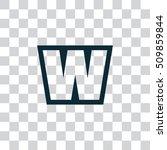 letter w vector  logo. useful...