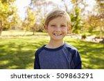 Seven Year Old Caucasian Boy I...