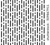 raster monochrome seamless... | Shutterstock . vector #509867911