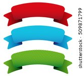 vector ribbon set | Shutterstock .eps vector #509871799