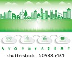 ecology connection  concept... | Shutterstock .eps vector #509885461