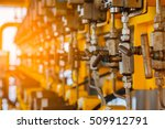 valves manual in the process... | Shutterstock . vector #509912791
