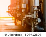 valves manual in the process... | Shutterstock . vector #509912809