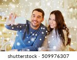 people  technology and dating... | Shutterstock . vector #509976307