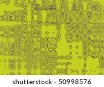 Lime green background optical - stock photo