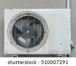 air compressor with dirty on... | Shutterstock . vector #510007291