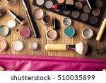 make up artist theme. various... | Shutterstock . vector #510035899