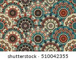 scales seamless pattern from... | Shutterstock .eps vector #510042355
