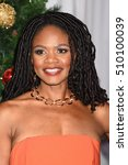 """Small photo of LOS ANGELES - NOV 3: Kimberly Elise arrives to the """"Almost Christmas"""" World Premiere on November 3, 2016 in Los Angeles, CA"""