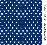 seamless us star pattern... | Shutterstock .eps vector #510107491