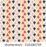abstract colorful arrow on...   Shutterstock .eps vector #510186739