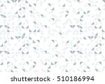 triangle graphic shape random... | Shutterstock .eps vector #510186994