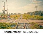 Railroad Crossing Inthailand ...