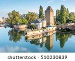view from the barrage vauban... | Shutterstock . vector #510230839