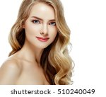 beauty woman face portrait.... | Shutterstock . vector #510240049