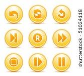 orange internet button 29 | Shutterstock .eps vector #51024118