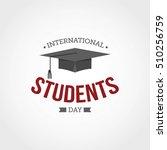 international students day... | Shutterstock .eps vector #510256759