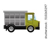 transportation vehicle design | Shutterstock .eps vector #510265297