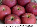 red apples.  | Shutterstock . vector #510266701