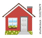 small house icon image  | Shutterstock .eps vector #510278479