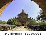htilominlo temple  bagan ... | Shutterstock . vector #510307081