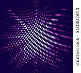 abstract vector background dot... | Shutterstock .eps vector #510307651