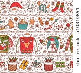 holiday background. ugly... | Shutterstock .eps vector #510310891