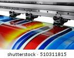large printer format inkjet... | Shutterstock . vector #510311815