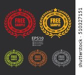 vector   free sample 100  free... | Shutterstock .eps vector #510327151