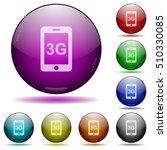 third gereration mobile network ... | Shutterstock .eps vector #510330085