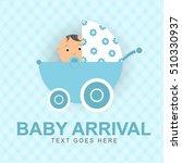 baby arrival | Shutterstock .eps vector #510330937