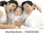 young happy family with... | Shutterstock . vector #51033100