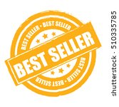 yellow best seller label ... | Shutterstock . vector #510335785