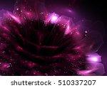 Fractal Shining Dahlia Flower ...