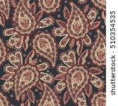 paisley seamless pattern.... | Shutterstock . vector #510354535