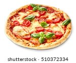 Margherita Italian Pizza With...