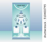 stand banner template design   Shutterstock .eps vector #510403795