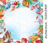 christmas card | Shutterstock .eps vector #510415909