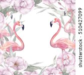 Watercolor Floral Template Wit...