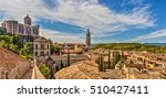 view of the medieval city of... | Shutterstock . vector #510427411