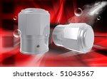 digital illustration of valve... | Shutterstock . vector #51043567