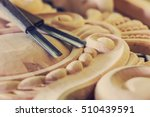 wood processing. joinery work.... | Shutterstock . vector #510439591