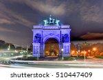 grand army plaza in brooklyn... | Shutterstock . vector #510447409