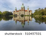 city hall in hannover | Shutterstock . vector #510457531