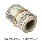 One Roll Of One Us Dollar Bills ...